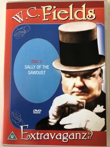 W.C. Fields Extravaganza DVD Disc 2. Sally of the Sawdust / Passport International Productions / DVD 3332 (025493333299)