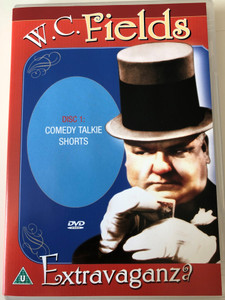 W.C. Fields Extravaganza DVD Disc 1. Comedy Talkie Shorts / Passport International Productions / DVD 3331 (025493333190)