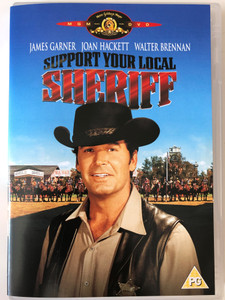 Support your local Sheriff DVD 1968 / Directed by Burt Kennedy / Starring: James Garner, Joan Hackett, Walter Brennan (5050070021493)