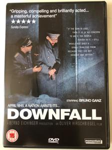 Downfall 2x DVD 2004 Der Untergang / Directed by Oliver Hirschbiegel / Starring: Bruno Ganz, Alexandra Maria Lara, Corinna Harfouch, Ulrich Matthes (5060049147093)