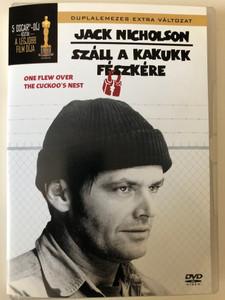 Száll a kakukk fészkére (1975) 2xDVD One Flew over the cuckoo's nest / Directed by Miloš Forman / Starring: Jack Nicholson. Louise Fletcher, William Redfield (5999010448269)