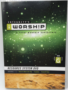 Integrity's Worship Volume G DVD 2004 A Total Worship Experience / Resource System DVD featuring There is none like you, Freedom, Friend Of God / Christian worship songs (000768286715)