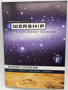Integrity's Worship Volume F DVD 2004 A Total Worship Experience / Resource System DVD featuring I Worship You, I Give You my Heart, Lord Have Mercy / Christian worship songs (00068275016)