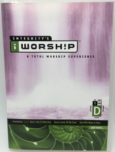 Integrity's iWorship Volume D DVD 2004 A Total Worship Experience / Featuring: Here I am to worship, Jesus Lover of My Soul, God Will make a way / Christian worship songs (000768234013)