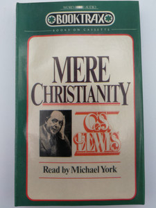Mere Christianity by C.S. Lewis Audio Book Cassette / Read by Michael York / Booktrax / 2 x Audio CASS. (023755510006)