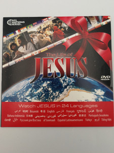 The Life of Jesus DVD Watch JESUS in 24 Languages / Gift edition of the movie Jesus - Arabic, Bengali, Bosnian, English, Farsi, Frenchi, Hindi, Japanese, Mandarin, Spanish, Russian, Turkish, Vietnamese (JesusDVD24Languages)