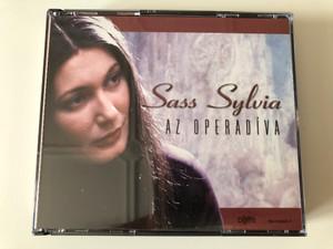 Sass Sylvia - Az Operadiva / Reader's Digest Kiado Kft. 4x Audio CD 2009 / RM-CD09091-B