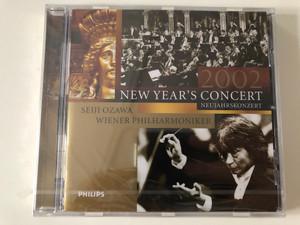 New Year's Concert 2002 – Neujahrskonzert 2002 / Seiji Ozawa, Wiener Philharmoniker / Philips Audio CD 2002 / 468 999-2