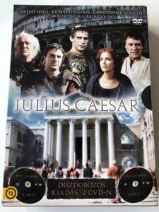 Julius Caesar DVD 2003 Díszdobozos kiadás 2 DVD-n / 2 disc Box Edition / Directed by Uli Edel / Starring: Jeremy Sisto, Richard Harris, Christopher Walken (5996473009266)