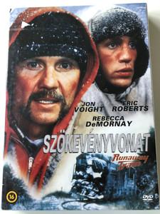 Runaway Train DVD 1985 Szökevényvonat / Directed by Andrei Konchalovsky / Starring: Jon Voight, Eric Roberts, Rebecca De Mornay, Kyle T. Heffner (5999546335699)