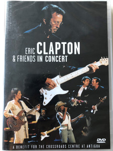 Eric Clapton & Friends in Concert DVD 1999 / A Benefit for the Crossroads Centre at Antigua / Featuring Mary J. Blige, Bob Dylan, Sheryl Crow / Filmed live at Madison Square Garden NY / Warner Music (075993851021)