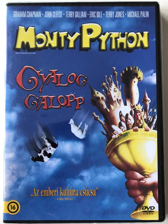 Monty Python & the Holy Grail DVD 1975 Monty Python Gyalog Galopp / Directed by Terry Gilliam, Terry Jones / Starring: Graham Chapman, John Cleese, Terry Gilliam, Eric Idle, Terry Jones, Michael Palin (8590548614422)