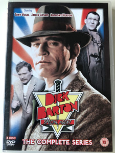 Dick Barton Special Agent 3 Disc DVD 1979 - The Complete Series / Directed by John Scoffield, Anthony Howard / Starring: Tony Vogel, James Cosmo, Anthony Heaton (5019322312048)