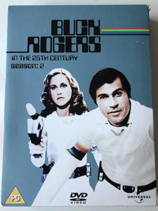 Buck Rogers in the 25th Century Season 2 - 4 disc DVD SET / Producers : Glen A. Larson, Leslie Stevens / Starring: Gil Gerard, Erin Gray, Thom Christopher, Jay Garner, Wilfrid Hyde-White (5050582359367)