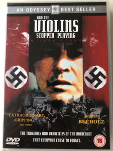 And the violins stopped playing DVD 1988 A true story / An Odyssey Best Seller / Directed by Alexander Ramati / Starring: Horst Buchholz, Piotr Polk, Marne Maitland, Jan Machulski (5018011201267)