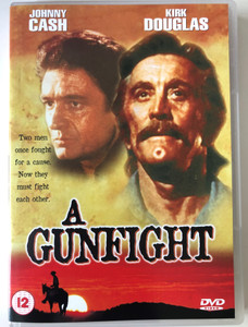 A Gunfight DVD 1971 / Directed by Lamont Johnson / Starring: Johnny Cash, Kirk Douglas (5014293115551)
