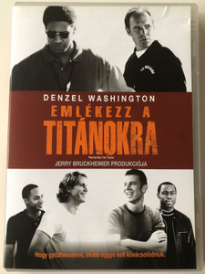 Remember the Titans DVD 2000 Emlékezz a Titánokra / Directed by Boaz Yakin / Starring: Denzel Washington, Will Patton, Donald Faison (5996255706833)