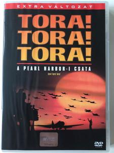 Tora! Tora! Tora! DVD 1970 Pearl Harbor - I csata / Directed by Toshio Masuda, Kinji Fukasaku / Starring: Soh Yamamura, Tatsuya Mihashi, Eijiro Tono, Koreya Senda / トラ・トラ・トラ! (5996255706628)