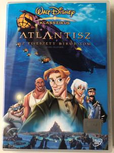 Atlantis - The Lost Empire DVD 2001 Atlantisz az elveszett birodalom / Directed by Gary Trousdale, Kirk Wise / Starring: Michael J. Fox, James Garner, Cree Summer, Don Novello, Phil Morris / Walt Disney Classic (5996255708448)