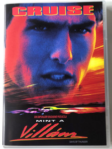 Days of Thunder DVD 1990 Mint a Villám / Directed by Tony Scott / Starring: Tom Cruise, Robert Duvall, Randy Quaid, Nicole Kidman (5996051320387)
