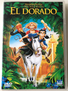 "The Road to El Dorado DVD 2000 Der Weg Nach Eldorado / Directed by Don Paul, Eric ""Bibo"" Bergeron / Starring: Kevin Kline, Kenneth Branagh, Rosie Perez, Armand Assante (0678149092493)"