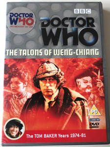 Doctor Who The Talons of Weng-Chiang DVD 1977 The Tom Baker Years 1974-81 / BBC Series / Directed by David Maloney / Starring: Tom Baker, Louise Jameson, Christopher Benjamin (5014503115227)