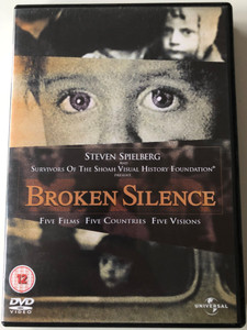 Broken Silence 2x DVD Five Films - Five Countries - Five Visions / Holocaust themed movies / Some Who Lived, Eyes of the Holocaust, Children from the Abyss, I remember, Hell on Earth / Steven Spielberg & Survivors of the Shoah Foundation (5050582225174)