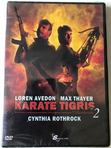 No Retreat No Surrender 2 - Raging Thunder DVD 1987 Karate Tigris 2: Villámkezek / Directed by Corey Yuen / Starring: Loren Avedon, Matthias Hues, Max Thayer, Cynthia Rothrock, Hwang Jang-lee (5999884099086)