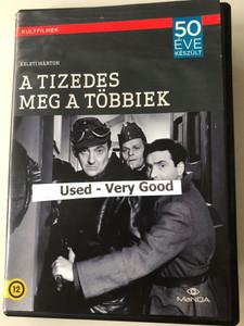 The Corporal and the others / A tizedes meg a többiek DVD 1965 / Directed by Keleti Márton / Starring: Sinkovits Imre, Darvas Iván, Major Tamás / Kultfilmek 50 éve készült (5999884681717)
