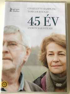45 Years DVD 2015 45 év / Directed by Andrew Haigh / Starring: Charlotte Rampling, Tom Courtenay, Geraldine James, Dolly Wells (5999546338126)