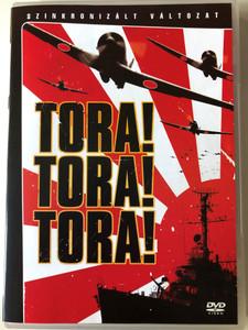 Tora! Tora! Tora! (ラ・トラ・トラ!) DVD 1970 / Directed by Richard Fleischer / Starring: Martin Balsam, Joseph Cotten, James Whitmore / Soh Yamamura, Tatsuya Mihashi, Eijiro Tono, Koreya Senda (5996255724226)