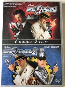 Inspector Gadget 1 & 2 DVD Bigyó Felügyelő 1 & 2 / Directed by David Kellogg, Alex Zamm / Starring: Matthew Broderick, Rupert Everett, Joely Fisher, Michelle Trachtenberg, Mike Hagerty (5996255732580)