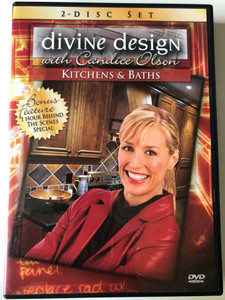 Divine design with Candice Olson 2x DVD Kitchens & Baths - 2 disc set / Bonus: 1 Hour Behind the Scenes Special / 4 full-length episodes (625828280092)