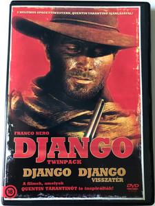 Django Twinpack DVD Django - Django visszatér / Directed by Sergio Corbucci, Ted Archer / Dtarring: Franco Nero, Loredana Nusciak, José Bódalo, Ángel Álvarez (5999884800149)