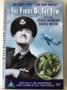 The First of the Few DVD 1942 AKA Spitfire - Britain's best ever war movie / Directed by Leslie Howard / Starring: Leslie Howard, David Niven / The Classic British Film Collection (5018011201502)
