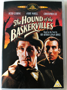 The Hound of the Baskervilles DVD 1959 / Directed by Terence Fisher / Starring: Peter Cushing, Andre Morell, Christopher Lee, Marla Landi (5050070010596)