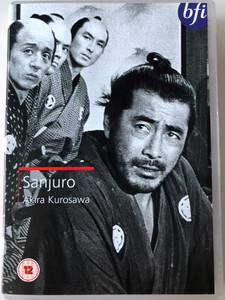 Sanjuro DVD 1962 / Directed by Akira Kurosawa / Starring: Toshiro Mifune, Tatsuya Nakadai, Keiju Kobayashi (5035673005828)