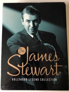 The James Stewart DVD Hollywood Legend Collection 5 DISC SET / Classic Films: Vertigo, Rear Window, Harvey, Winchester '73, Destry Rides Again / Universal (025192558627)