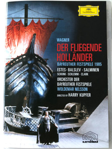 Wagner - Der Fliegende Holländer DVD 1985 The Flying Dutchman / Bayreuther Festspiele 1985 / Orchester der Bayreuther Festspiele / Directed by Harry Kupfer / Unitel - Deutsche Grammophon (044007340417)