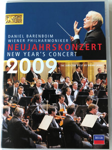 Neujahrskonzert DVD 2009 New Year's Concert / Conducted by Daniel Barenboim / Director's Cut by Brian Large / Wiener Philharmoniker / Decca (044007433171)