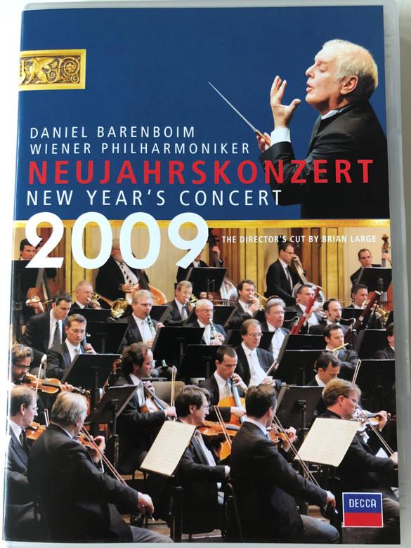 Neujahrskonzert DVD 2009 New Year's Concert / Conducted by Daniel Barenboim / Director's Cut by Brian Large / Wiener Philharmoniker / Decca (044007433171)