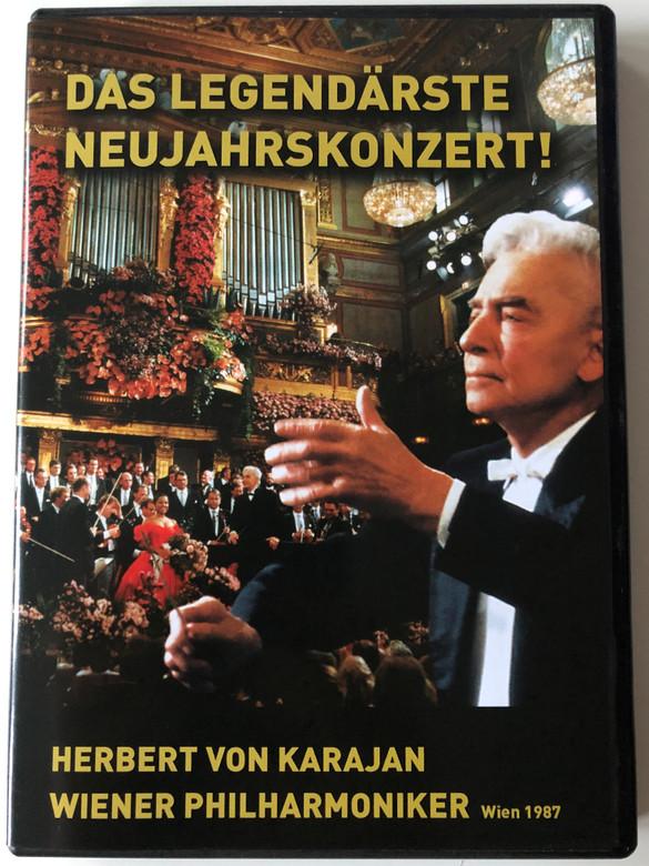 Das Legendärste Neujahrskonzert! DVD 1987 / Conducted by Herbert von Karajan / Wiener Philharmoniker / Wien 1987 / Sony Classical (828767697895)