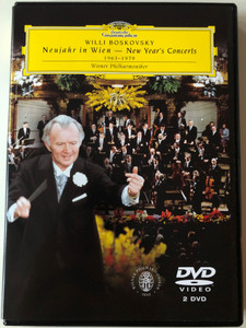 Willi Boskovsky - Neujahr in Wien 2x DVD 2004 New Year in Vienna 1963-1979 / Wiener Philharmoniker / Deutscher Grammophon (044007340028)