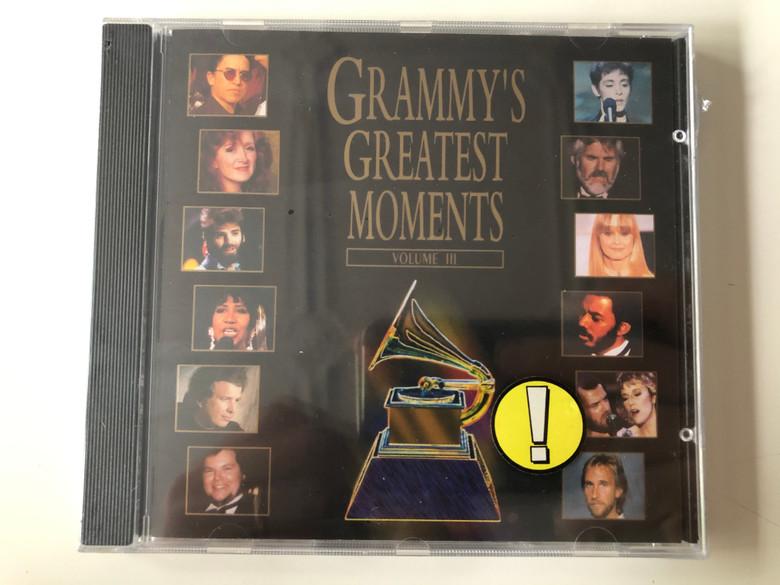 Grammy's Greatest Moments- Volume III / Atlantic Audio CD 1994 / 7567-82576-2