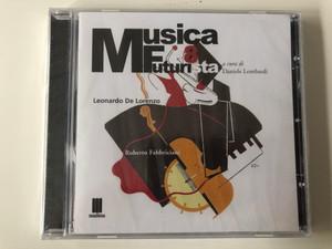 Musica Futurista 8 / a cura di Daniele Lombardi / Leonardo De Lorenzo / Roberto Fabbriciani / Mudima Ed. Musicali Audio CD 2010 / 8033224410333