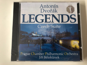 Antonín Dvořák - Legends / Czech Suite / Prague Chamber Philharmonic Orchestra, Jiri Belohlavek / Clarton ‎Audio CD 1996 / CQ 0027-2 031