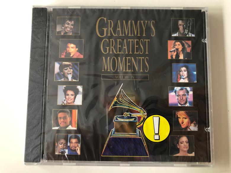 Grammy's Greatest Moments - Volume IV / Atlantic Audio CD 1994 / 7567-82577-2