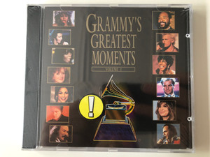 Grammy's Greatest Moments - Volume I / Atlantic ‎Audio CD 1994 / 7567-82574-2