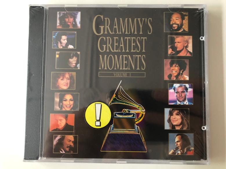 Grammy's Greatest Moments - Volume I / Atlantic Audio CD 1994 / 7567-82574-2