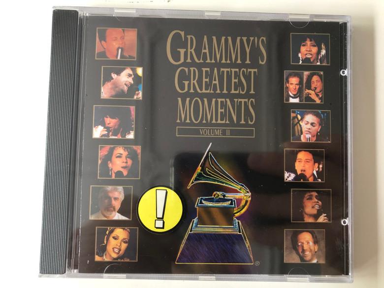 Grammy's Greatest Moments - Volume II / Atlantic Audio CD 1994 / 7567 82575-2